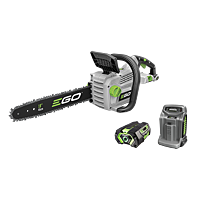 Power+ 45cm Chain Saw with 5.0Ah battery and rapid charger