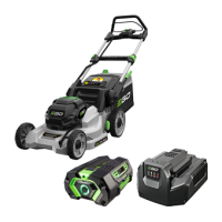 Power+ 42cm Push Mower with 5.0Ah battery and standard charger