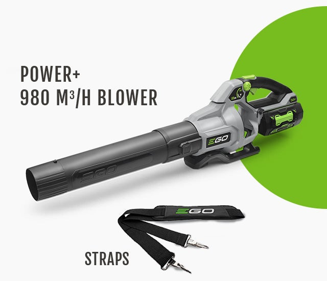 Power+ 980M3/H Blower & Strap